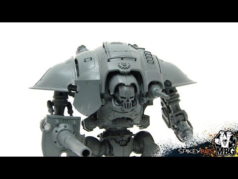 First Look Review - Imperial Knight Titan Assembled 40k