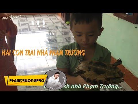 Hai con trai Phạm Trưởng thích thú khi về quê Nội [ Bill and Bush ] thumbnail