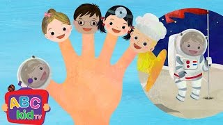 Finger Family - Jobs | Nursery Rhymes & Kids Songs - ABCkidTV