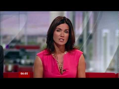 Susanna Reid - Ravishing Open Cleavage Pretty In Pink - 09-Sep-11