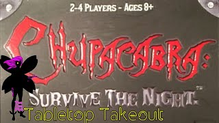 Tabletop Takeout 034 - Halloween For Kids: Chupacabra Survive the Night by Steve Jackson Games