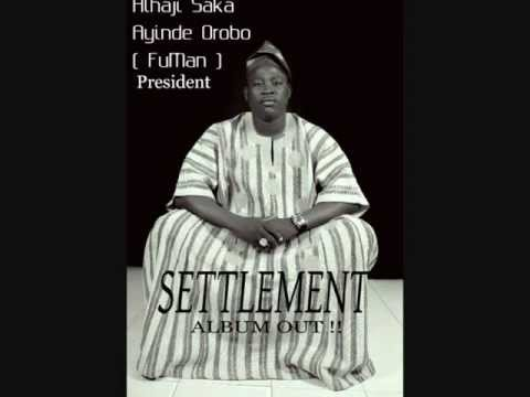 Saka Orobo -  Eni Ija O Ba ( Settlement ) Album video