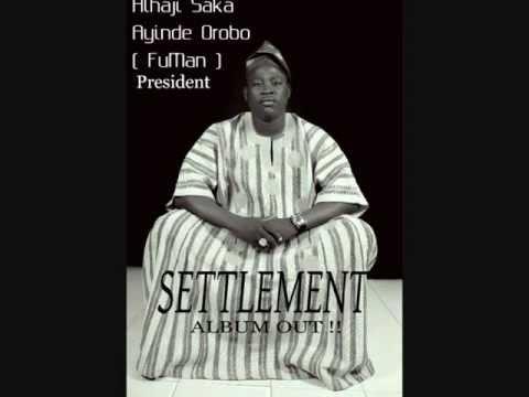 Saka Orobo -  Eni Ija O Ba ( Settlement ) Album video