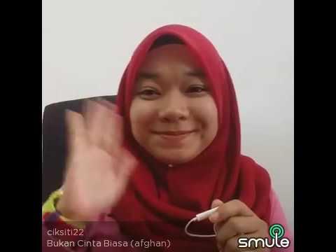 Download Bukan Cinta Biasa -afgan- cover by Siti.. Mp4 baru