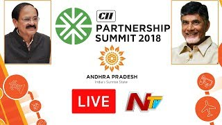 CII Partnership Summit LIVE || #SunriseAPSummit2018 || Vizag
