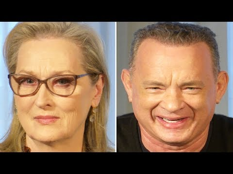 The Post Press Conference - Meryl Streep, Tom Hanks & Steven Spielberg