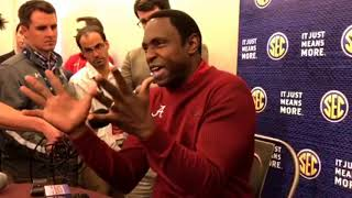 Alabama coach Avery Johnson on returning talent | SEC Media Day