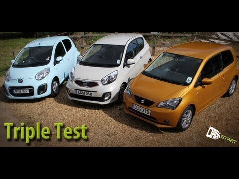 seat mii vs kia picanto vs citroen c1 review drive start how to save money and do it yourself. Black Bedroom Furniture Sets. Home Design Ideas