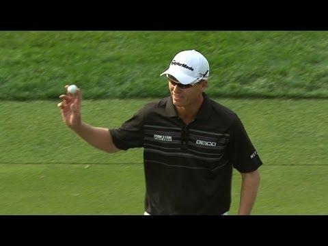 John Senden holes amazing chip to take lead at Valspar