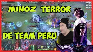 TEAM PERU  ELIMINADO POR UN MINOZ DESCONTROLADO PLAY MAKERS