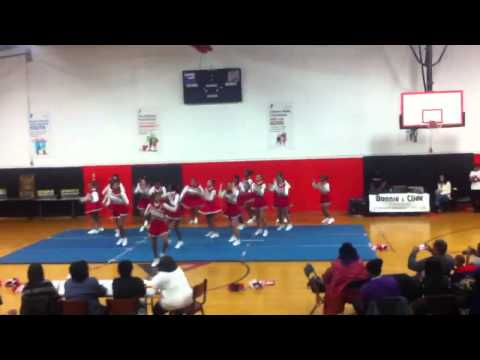 Lady Bears 2012-2013 cheer competition