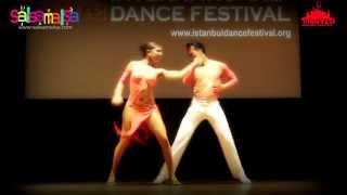 AMAZING SALSA PERFORMANCE     DAVID ZEPEDA & PAULINA POSADAS   ISTANBUL DANCE FESTIVAL