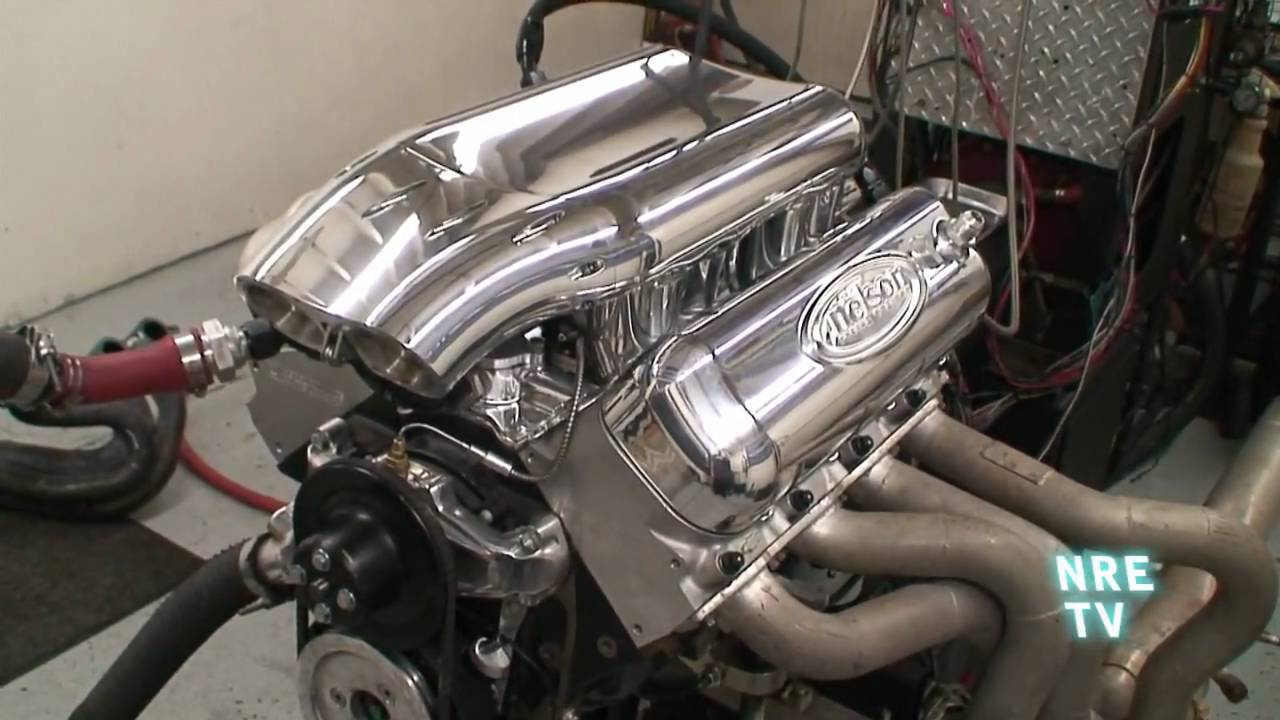 Quot Alien Quot Intake Manifold Efi 502 Bbc Crate Motor From