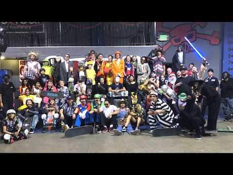Halloween Jam At SKATELAB!