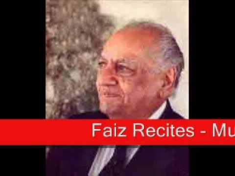 Faiz Ahmad Faiz - Mujh Se Pahli Si Mohabbat Mere Mahboob Na...