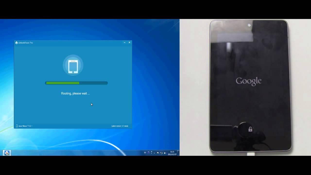 How to unlock & root Google Nexus 7