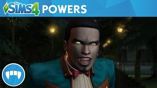 The Sims 4 Vampires: Official Vampire Powers Gameplay Trailer