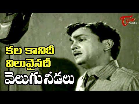 Telugu Old Songs | Velugu Needalu Songs | kalakaanidi Viluvainadi | ANR | Savitri - OldSongsTelugu