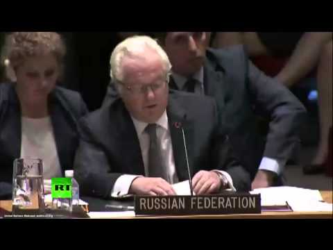 Совбез ООН: скандальная оговорка Чуркина выдала намерения Кремля