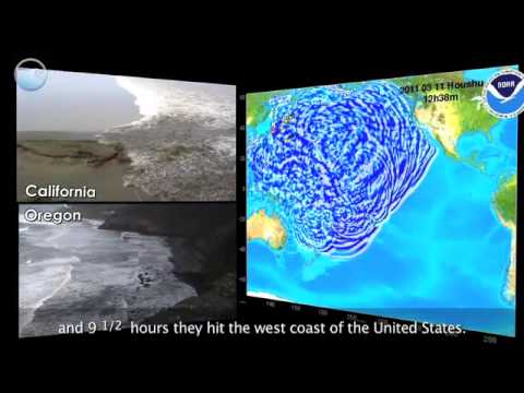 Noaa Ocean Today Video: Tsunami Strike -- Japan Part 2 Of 3: Propagation video
