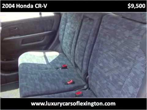 2004 Honda CR-V Used Cars Lexington SC