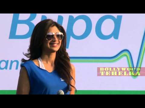Hot Shilpa Shetty To Flag Off Max Bupa Walk For Health! video