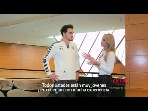 Kia patrocinador oficial de la Eurocopa 2016 Entrevista Mats Hummels