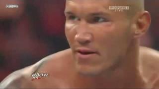 Randy Orton Punts Nexus Member