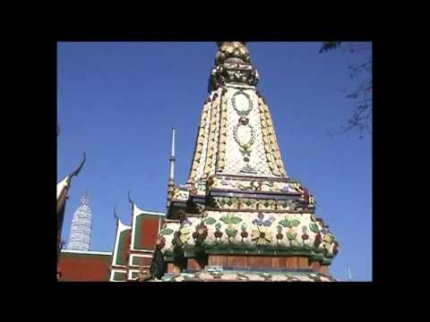 Thailand Bangkok Tempelanlage buddhistisch Yai Wat Arun und Wat Pho วัดโพธิ์ วัด อรุณ