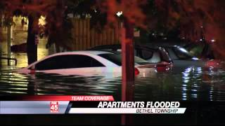 Families Homeless After Flood Water Pushes Them Out of Apartments