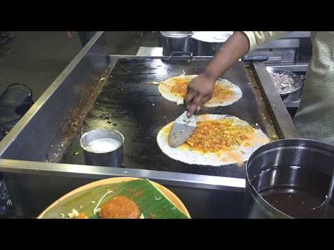 Tasty gun powder dosa