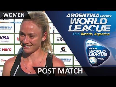 Anita Punt Post Match Interview #HWL2015 #Rosario