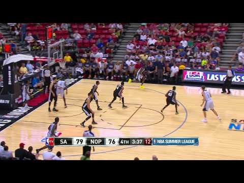 Summer League: San Antonio Spurs vs New Orleans Pelicans