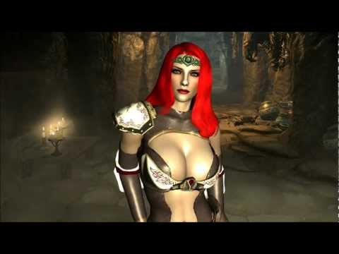 The Elder Scrolls V: Skyrim - Demothris Sexy Armor Mod
