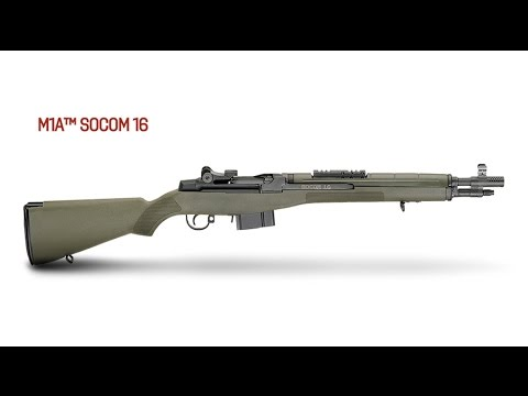 Gun Review: The new Springfield M1A SOCOM 16