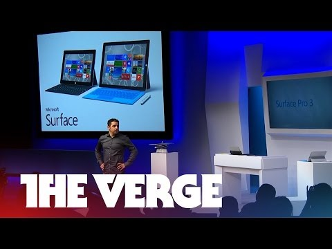 Microsoft's Surface Pro 3 event in under six minutes