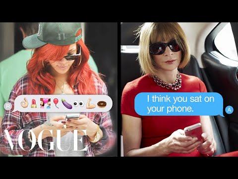 Rihanna Texts Anna Wintour - Vogue