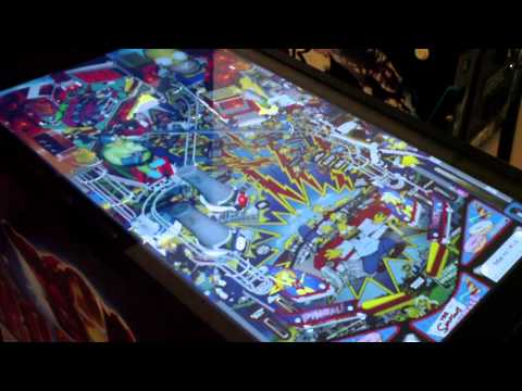 Virtual Pinball Machine Arcade Game Ultimate SuperPin Mid-Size Hyperpin capable