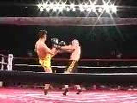 Cung Le fight clip doing San Shou Image 1
