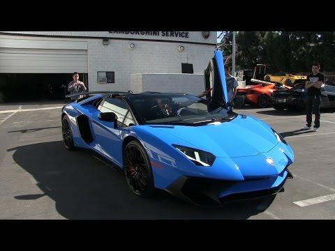 Lamborghini Newport Beach Supercar Show!