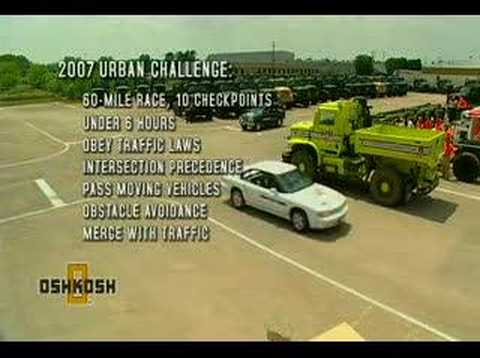 License to Drive: Oshkosh Truck Unmanned Ground Vehicle
