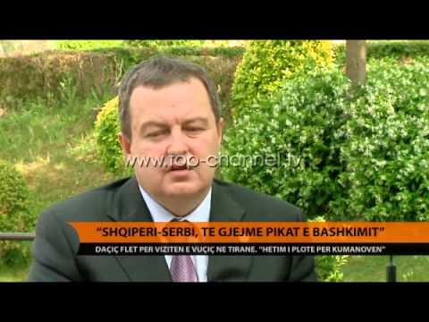 Daçiç: Të gjejmë pikat e bashkëpunimit - Top Channel Albania - News - Lajme