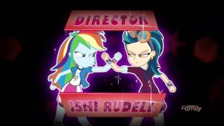 My Little Pony Equestria Girls: Friendship Games Intro theme