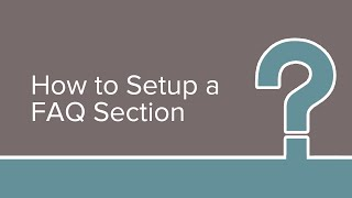 How to Setup FAQ Section on Your WordPress Website