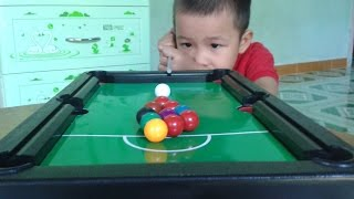 Bộ đồ chơi bi da trẻ em | billiards children | SNOOKER  children | POOL SERIES children