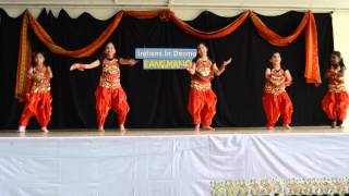 Indians in Denmark presents Chitiya kalaiyan by Deepshikha 's kids dance group for RangManch 6