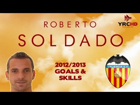 Roberto SOLDADO - Goals and Skills | Welcome to Tottenham | 2012/2013 | HD