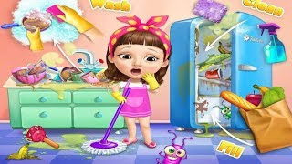 Fun Baby Girl Care Kids Games - Sweet Baby Girl Cleanup 5 - Play Fun  Cleaning Games