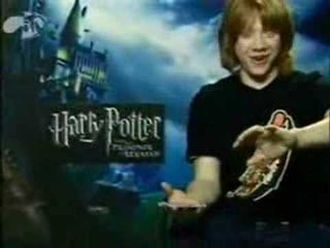 You're so damn hot(A Rupert Grint video)