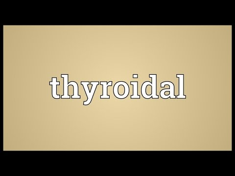 Header of thyroidal